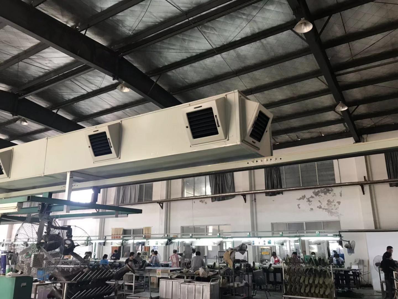 冷风机通风管道安装实例
