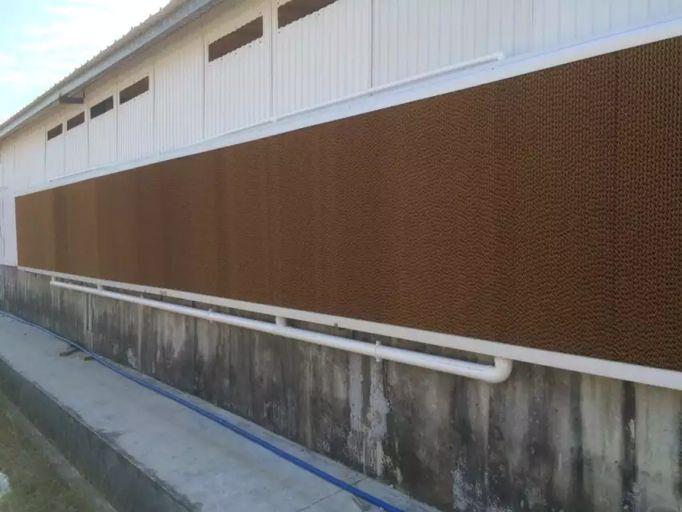 湿帘墙安装实例