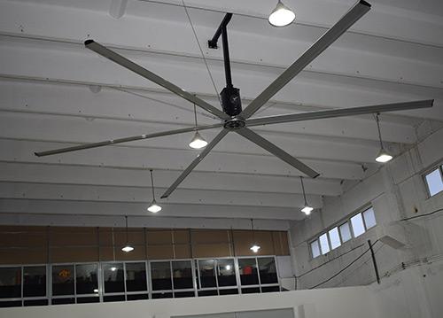 义展大风扇工程安装实例